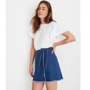 MADEWELL Wrap skirt